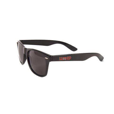 KROOKED - EYES SUNGLASSES - BLK/RED