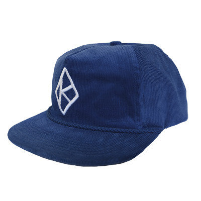 KR HATS DIAMOND K SNAPBACK ROYAL O/S