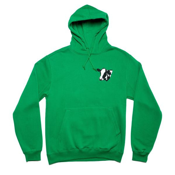 917 - MEET MEAT PULLOVER HOOD - GREEN
