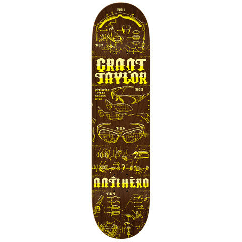 ANTI HERO - TAYLOR SPEED SHADES DECK - 8.28