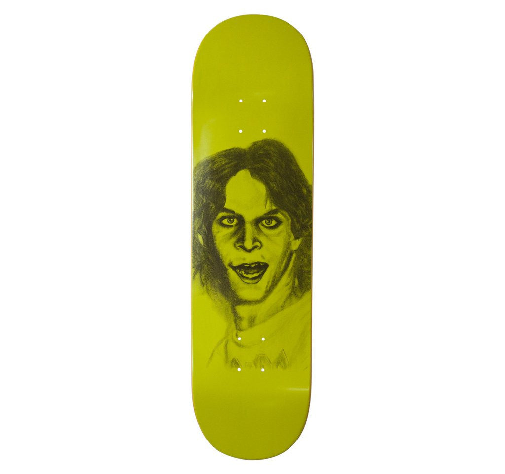 HOC DECK KASSO FLUORESCENT GREEN 8.5 - Menu Skateboard Shop