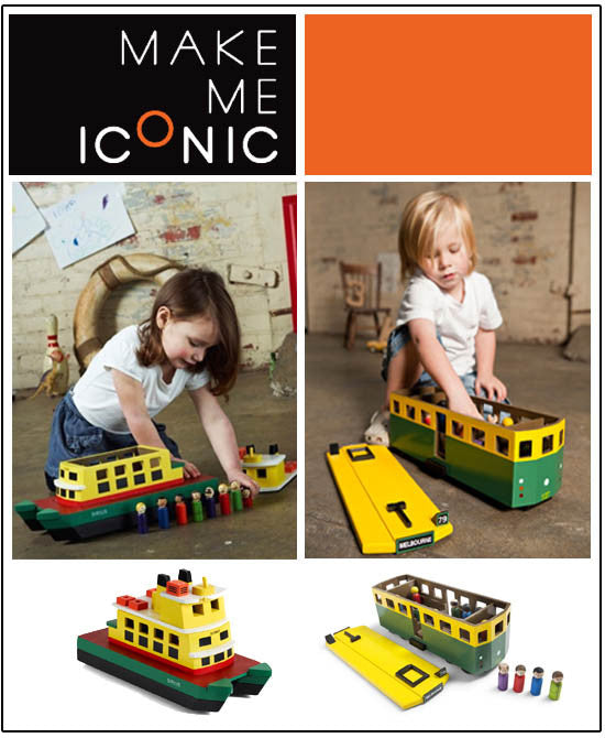 Classic Wooden Toys by Make Me Iconic