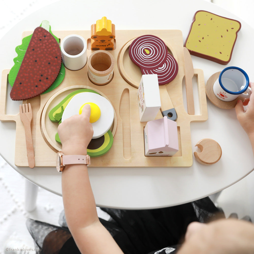 Enjoy a healthy cafe brekkie at your place with our classic toy!