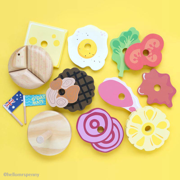make me iconic wooden toys Australian melbourne gifts souvenirs