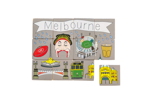 Melbourne Souvenirs Melbourne Gifts Best Gifts from Australia toy wood blocks