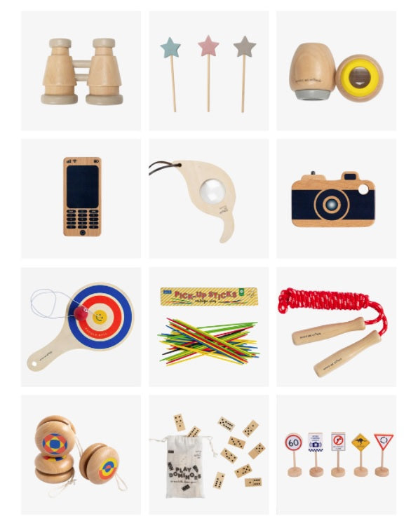 Make Me Iconic wooden toys