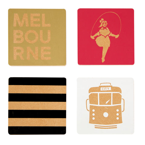 Melbourne gifts souvenirs coasters