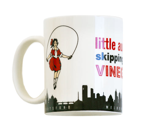 Melbourne Souvenirs Melbourne Gifts Best Gifts from Australia skipping girl mug