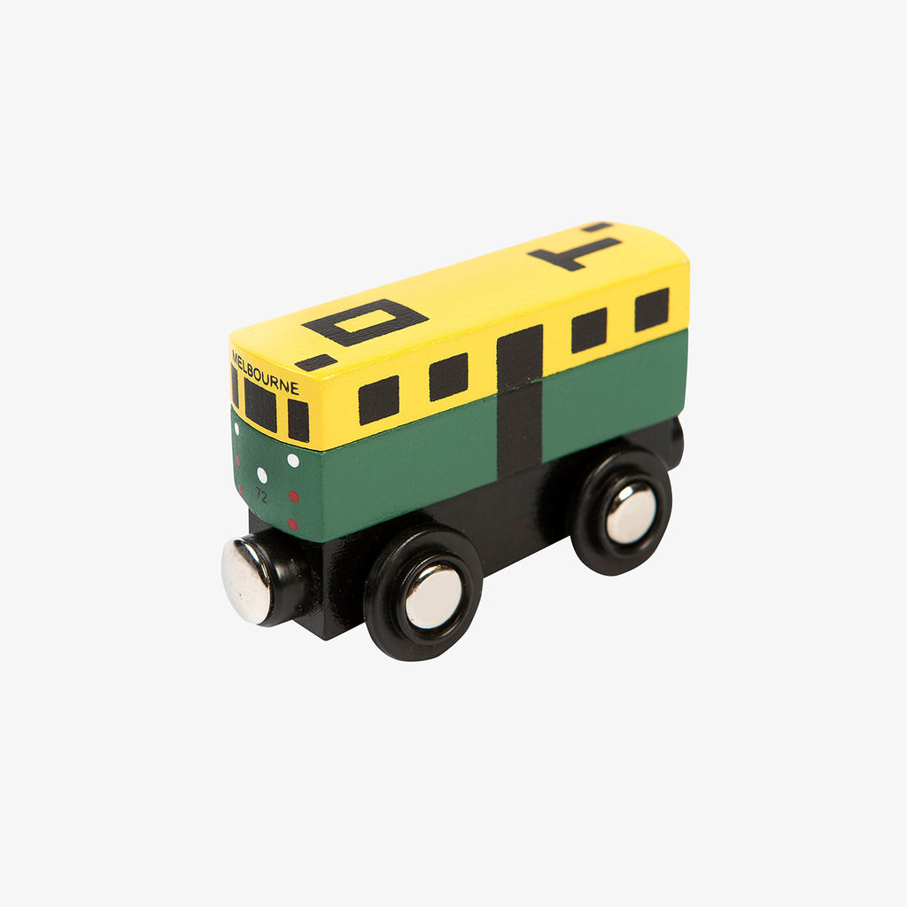 Make Me Iconic wood toy Australian Gifts Souvenirs mini tram