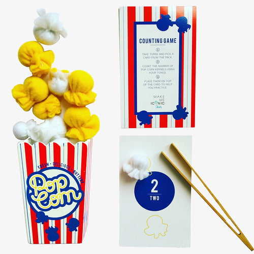 Make Me Iconic wood toy Australian Gifts Souvenirs pop corn game