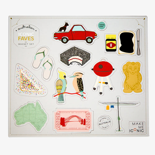 Melbourne Australian gifts souvenirs magnets faves