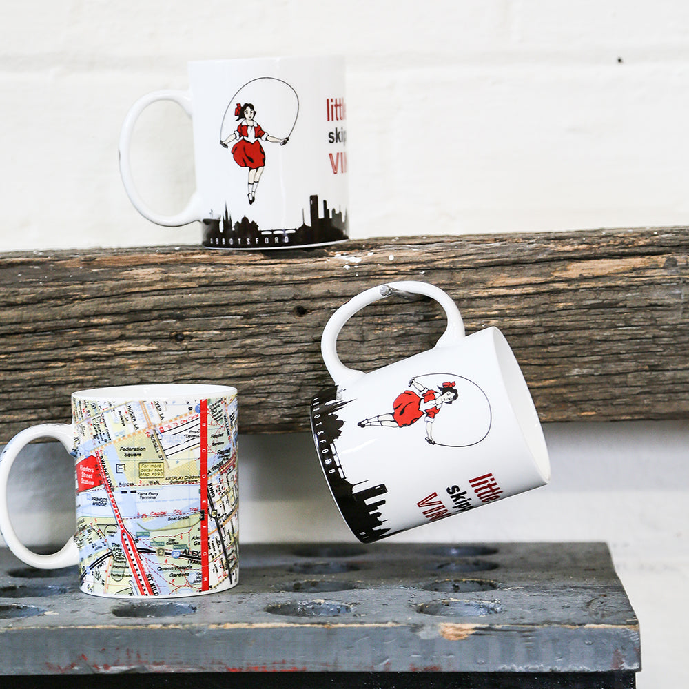 Melbourne Australian gifts souvenirs mug Melway