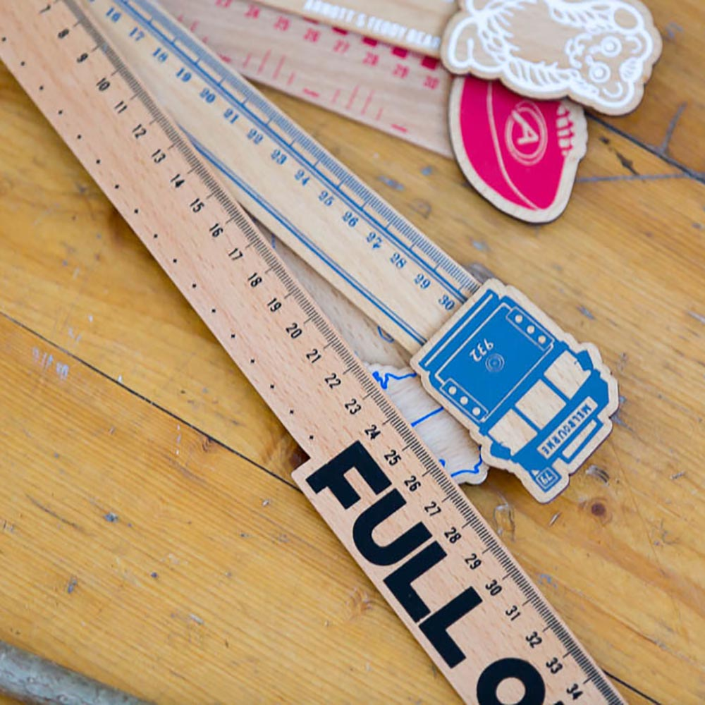Melbourne Australian gifts souvenirs ruler full on stationery