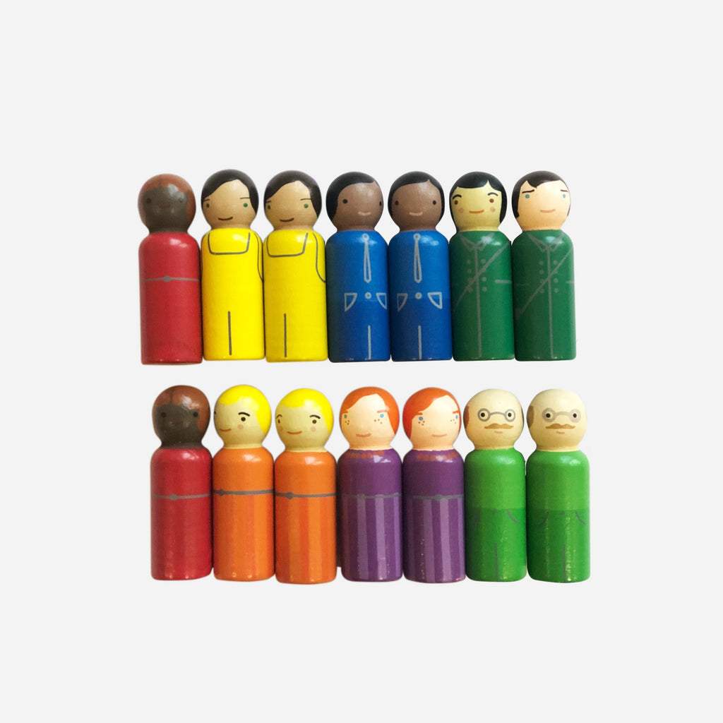 ICONIC TOY - EXTRA PEOPLE MIXED FRIENDS