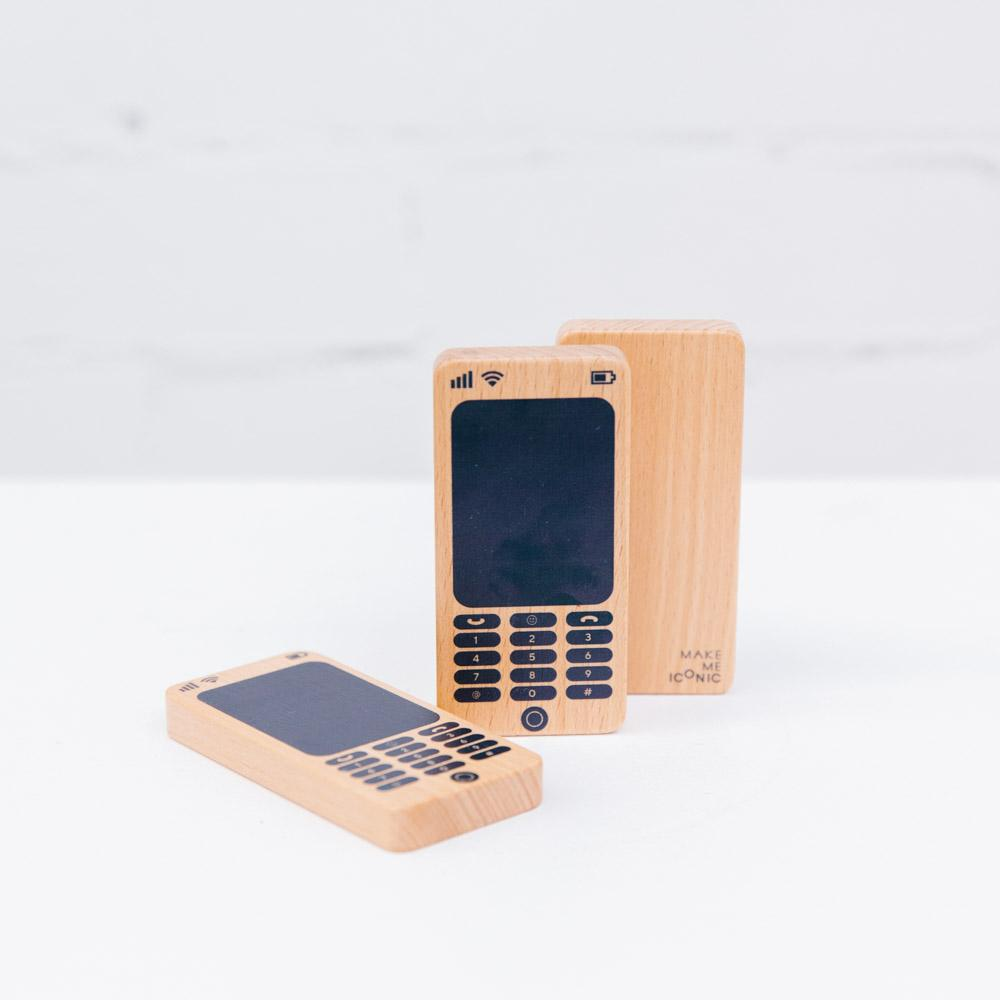 Melbourne Australian gifts souvenirs wood toy phone