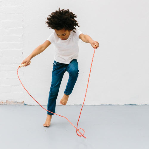 make me iconic wooden toy loose change series skipping rope