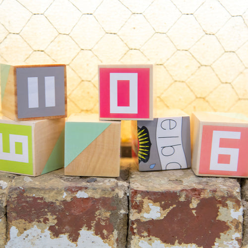 Make Me Iconic wood toy Australian Gifts Souvenirs Melbourne Blocks