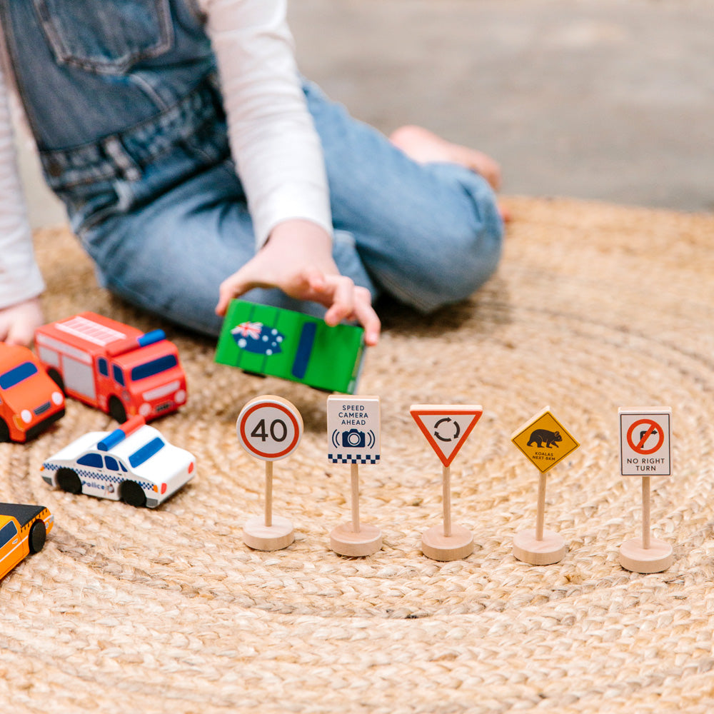 ICONIC TOY - LOOSE CHANGE AUSSIE ROAD SIGNS