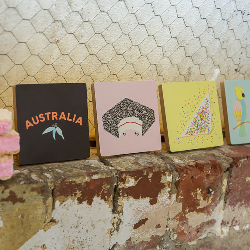 ICONIC COASTERS - AUSSIE