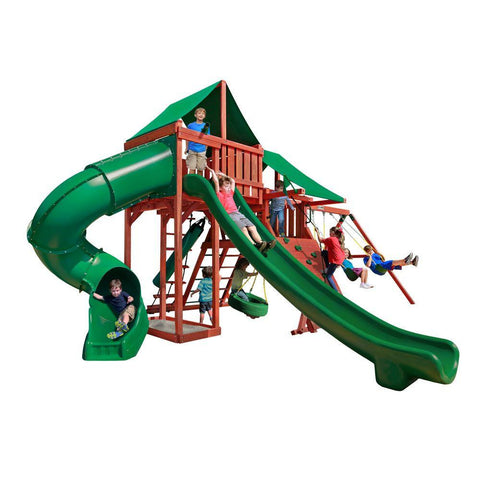 Gorilla Playsets Sun Valley Deluxe Swing Set