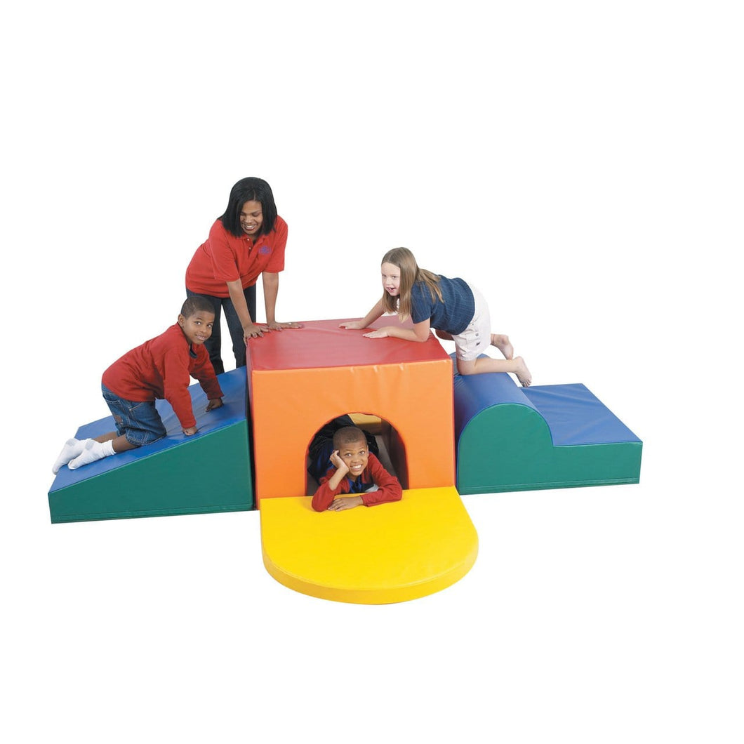 Children's Factory School Age Tunnel Climber