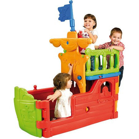 ECR4Kids Buccaneer Boat with Pirate Flag | ELR-12508