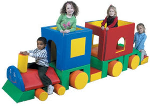 Children's Factory Little Train with Caboose Climber