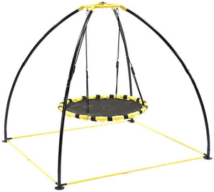 JumpKing UFO Multidirectional Twisting and Turning Swing Set, JKBKUFO-V2