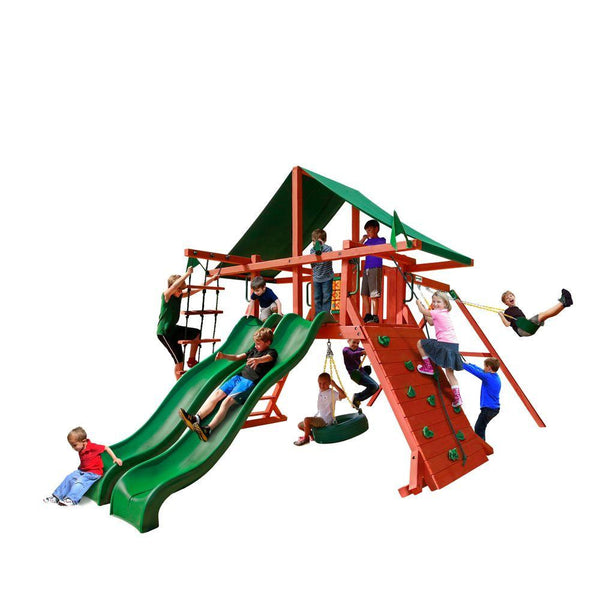 Gorilla Playsets Sun Valley Extreme Swing Set | 870780003450