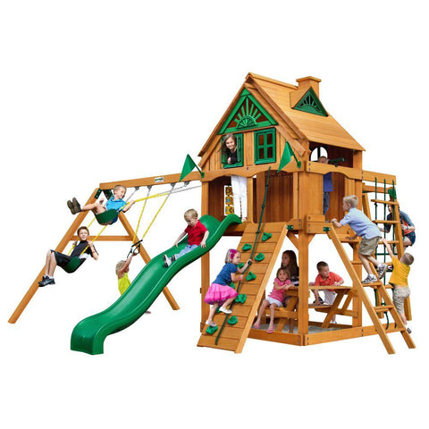 Buy Gorilla Navigator Treehouse with Fort Add-On & Posts Online