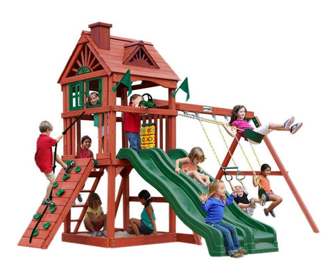 Gorilla Playsets Double Down Swing Set 01-0036