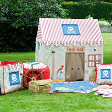 Load image into Gallery viewer, Win Green Handmade Cotton Pirate Shack Playhouse