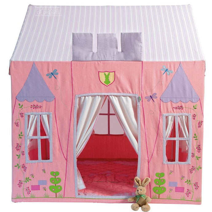 Win Green Handmade Cotton Princess Castle Playhouse