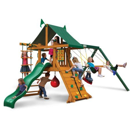 Gorilla Playsets High Point Latitude Swing Set | 01-0040