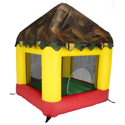 Bazoongi Combo Bounce House with Tree House Cover