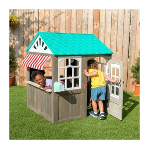 KidKraft Coastal Cottage Wooden Playhouse