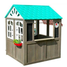 Load image into Gallery viewer, KidKraft Coastal Cottage Wooden Playhouse