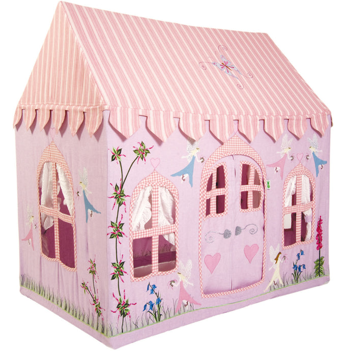 Win Green Handmade Cotton Fairy Cottage Playhouse