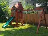 Gorilla Playsets Nantucket Wooden Swing Set 01-0021