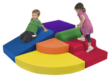 Load image into Gallery viewer, ERC4Kids SoftZone Primary Corner Climber | ELR-0834