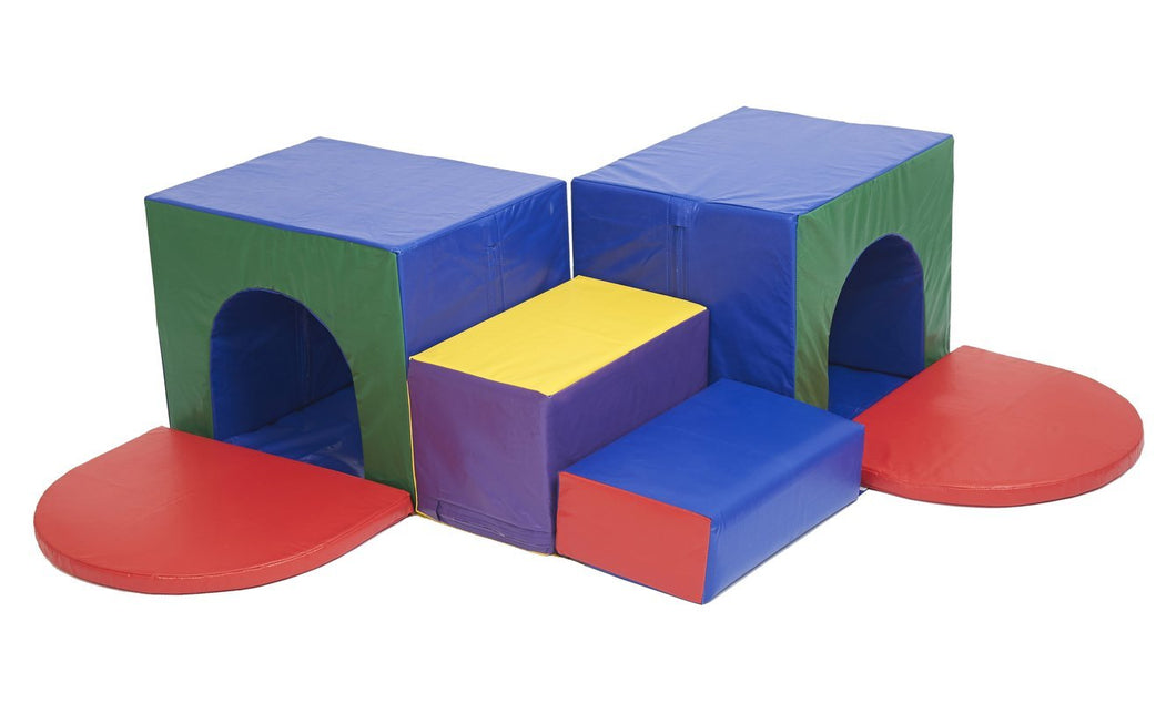 ECR4Kids Softzone Triple Tunnel Maze