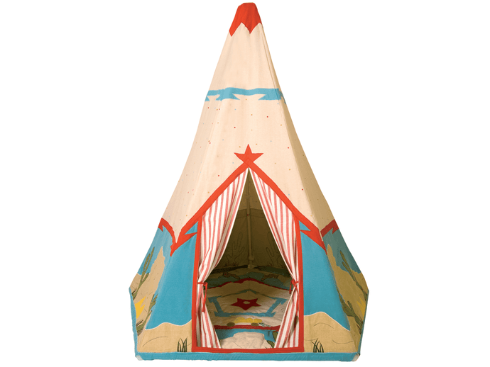 Win Green Handmade Cotton Cowboy Wigwam Playhouse