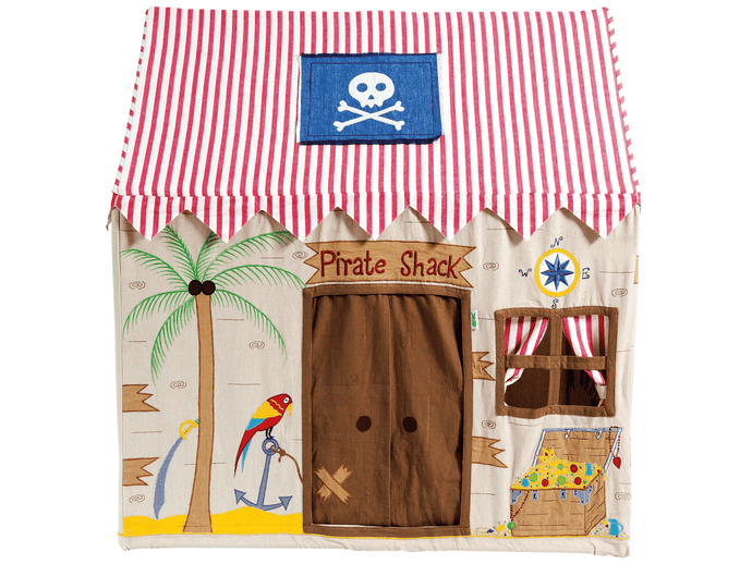 Win Green Handmade Cotton Pirate Shack Playhouse