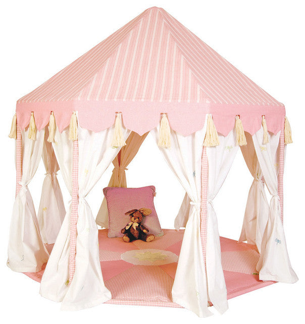 Win Green Handmade Cotton Pavilion Playhouse
