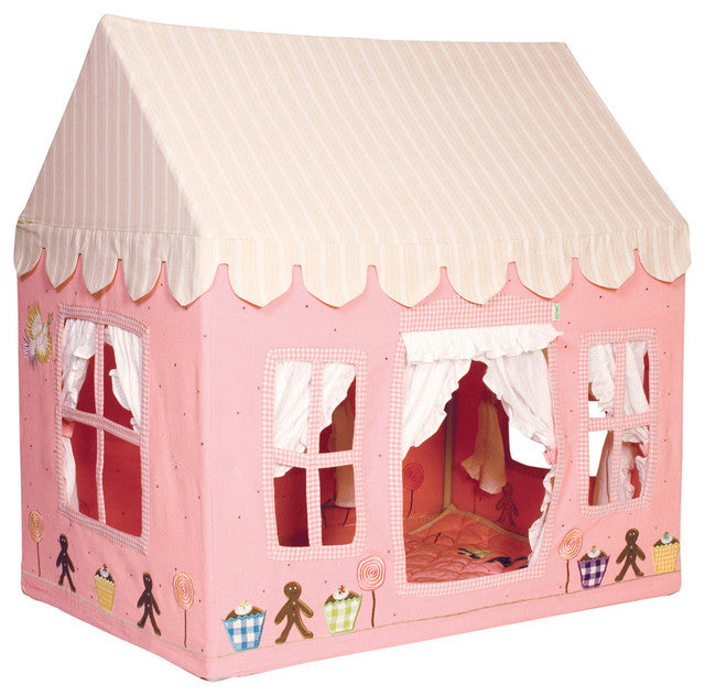 Win Green Handmade Cotton Gingerbread Playhouse