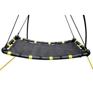 JumpKing Backyard UFO Swing set Version 3, Yellow | JKBKUFO-V3