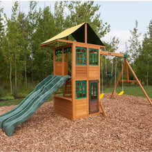 Load image into Gallery viewer, KidKraft TREASURE COVE WOODEN SWING SET / PLAYSET 875257038607