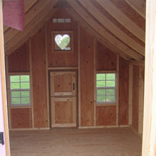 Load image into Gallery viewer, Little Cottage 8 x 8 Gingerbread Wood Playhouse