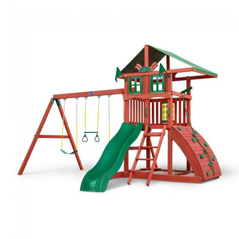 Gorilla Playsets Highcrest Swing Set 01-0079