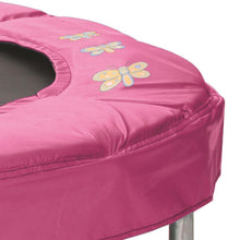 "Load image into Gallery viewer, JumKing 48"" Bouncer with Handrail, Pink Butterfly"